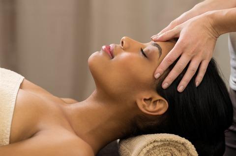 Chinese hoofd, nek en schouder massage