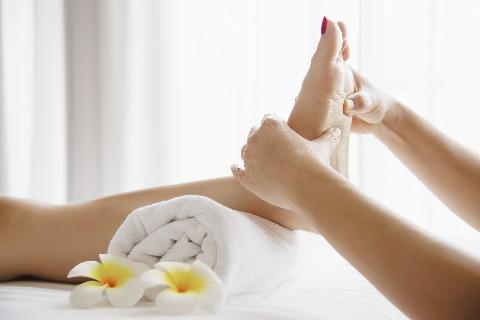 Ster-voet reflexzone therapie